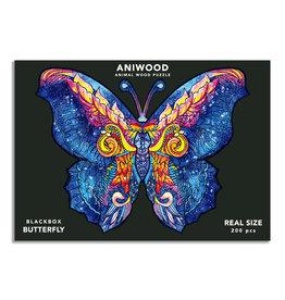 Aniwood Pzzel vlinder large