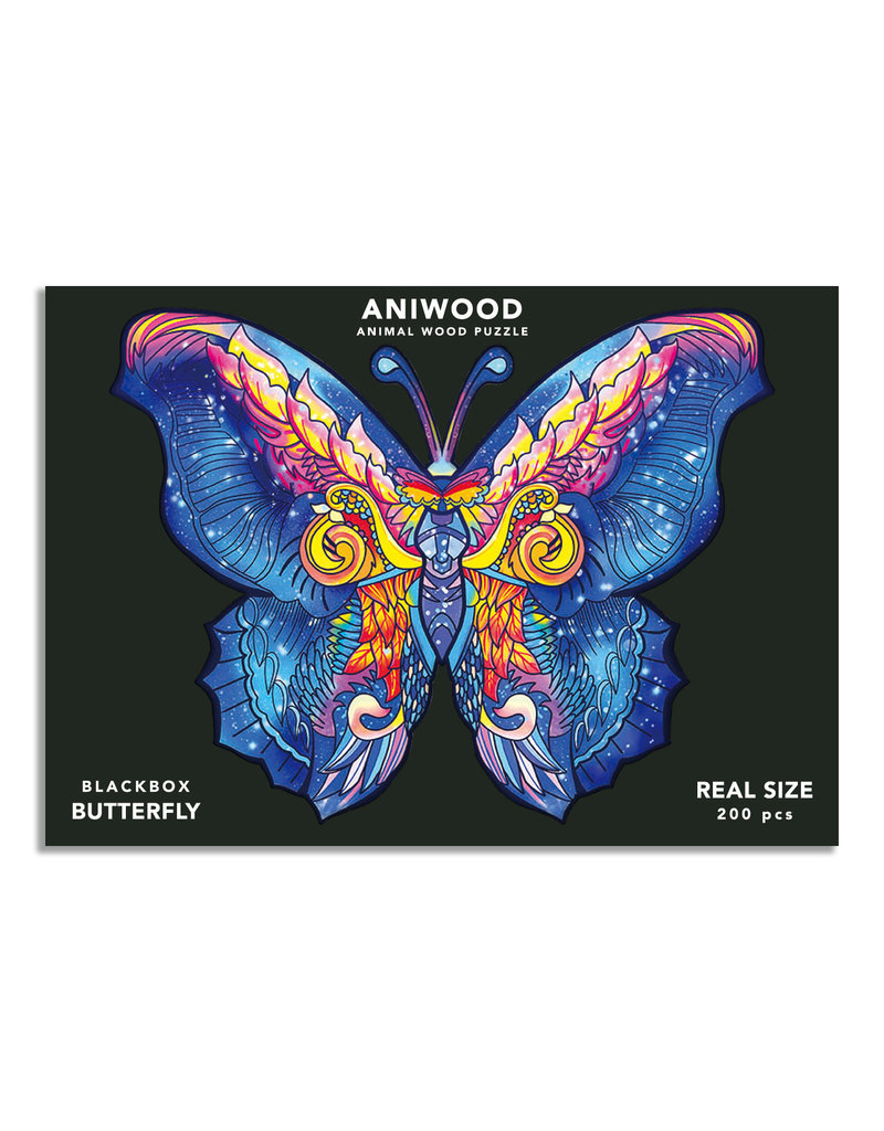 Aniwood  Wooden puzzle butterfly large