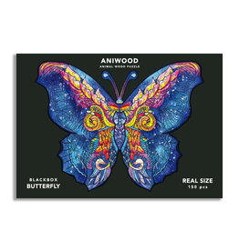 Aniwood Puzzle butterfly medium