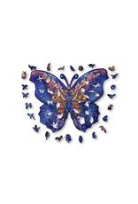 Aniwood Houten puzzel vlinder medium