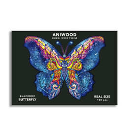 Aniwood Puzzle butterfly small