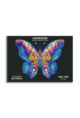 Aniwood Wooden puzzle butterfly small