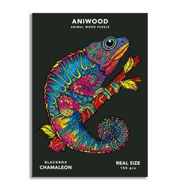 Aniwood Puzzle chameleon medium