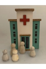 Papoose Toys Wood family - 5 pcs