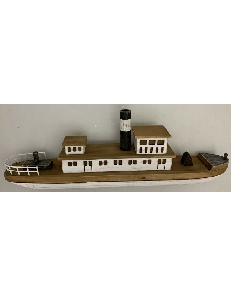 Papoose Toys Wooden Steamboat