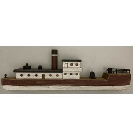 Papoose Toys Vissersboot - hout