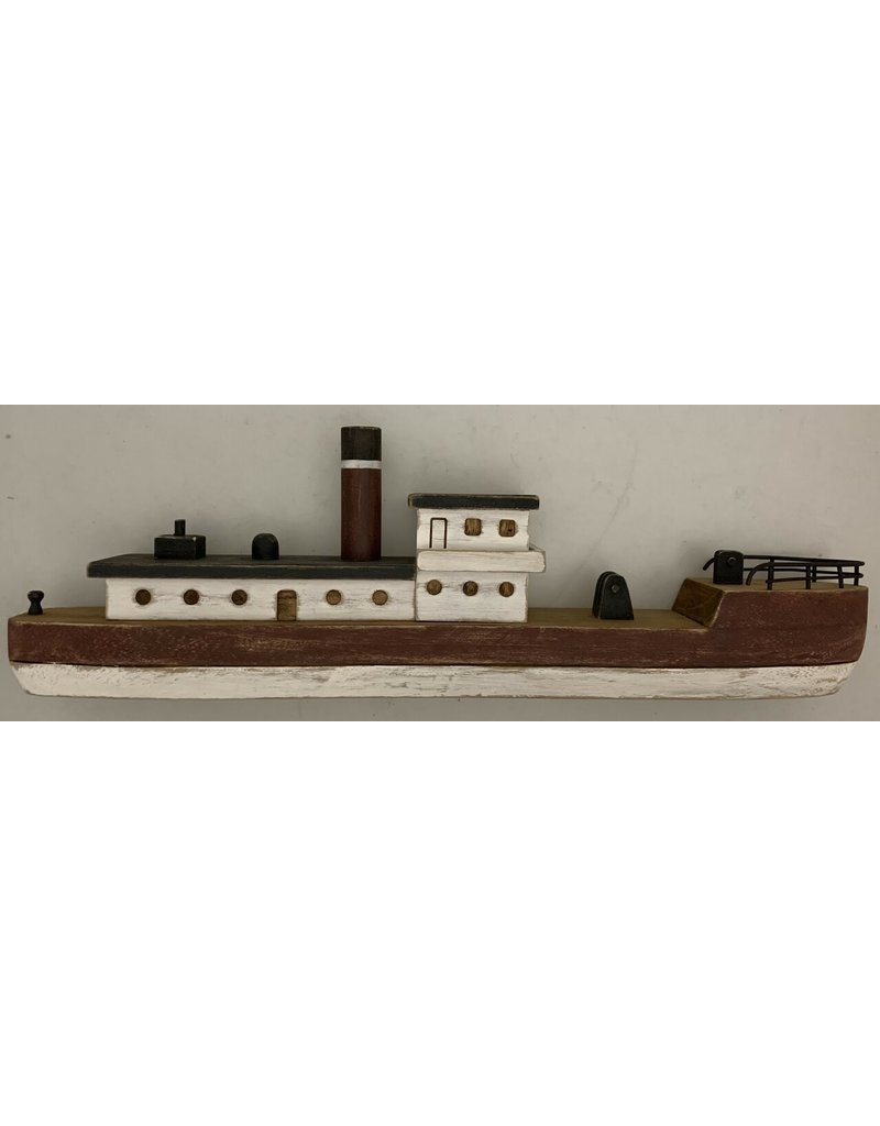 Papoose Toys Wooden Fishingboat