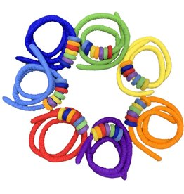 Papoose Toys Ropes and rings set - all colours 56 pcs