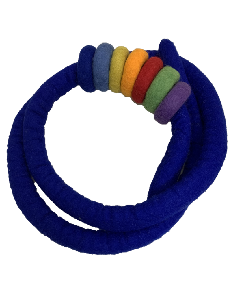 Papoose Toys Ropes and rings - Indigo
