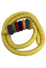 Papoose Toys Ropes and rings - Yellow