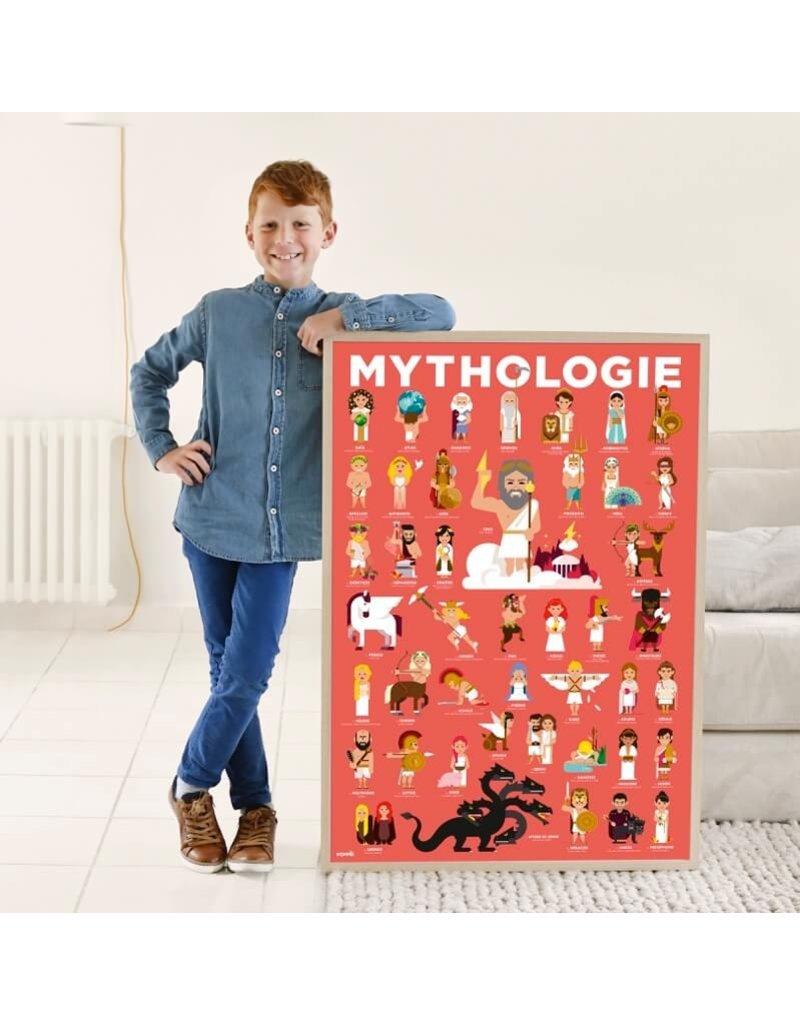 Poppik Discovery poster Mythologie 7-12 jaar