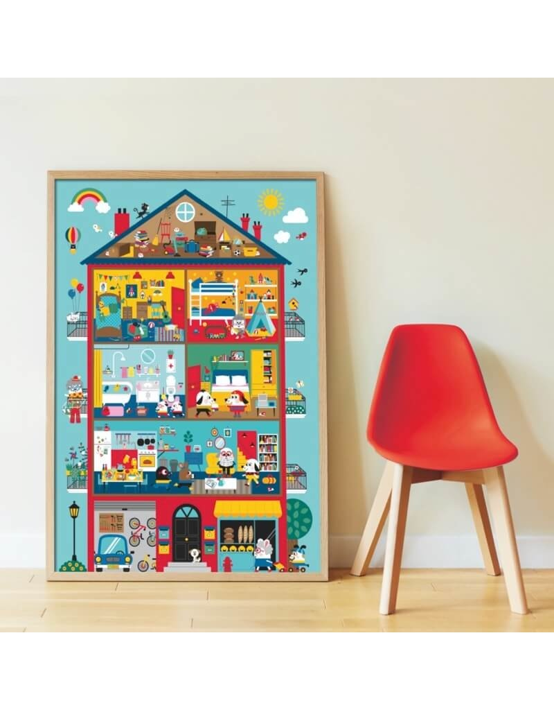 Poppik Discovery poster Graou's Huis