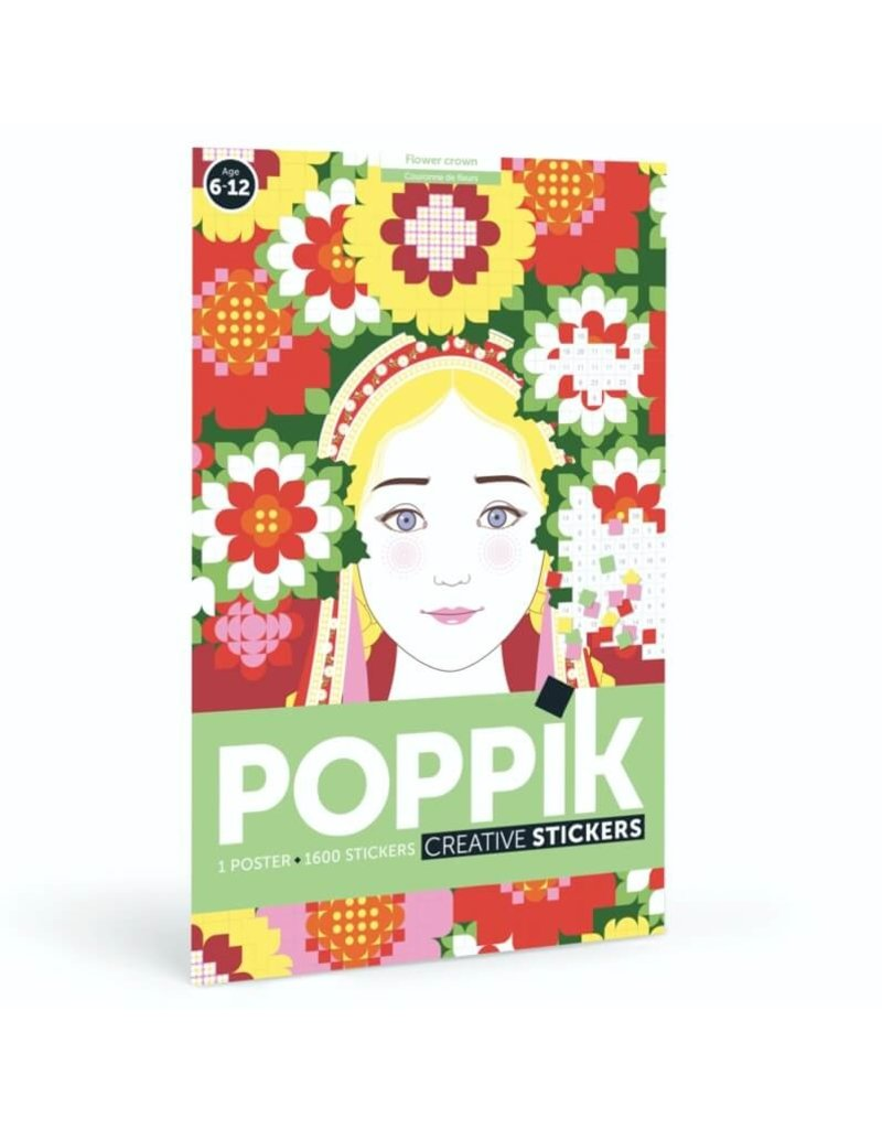 Poppik Discovery poster Flower crown