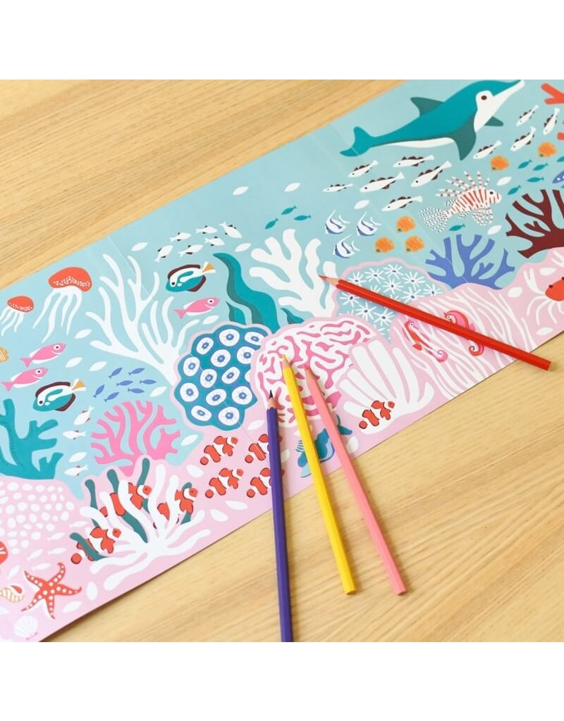 Poppik Coloring Color reef
