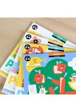 Poppik My first Sticker - Dieren