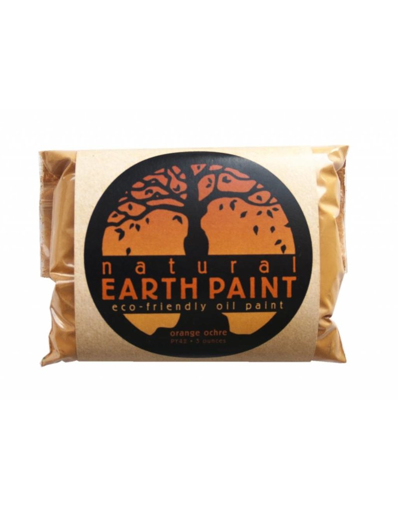Natural Earth Paint Natuurlijk pigment Orange Ocher