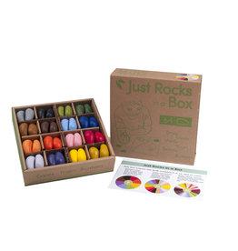 Crayon Rocks Just Rocks in a box - 16 kleuren - 64 krijtjes
