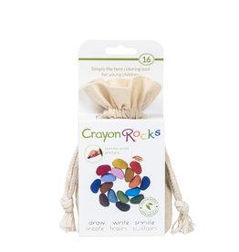 Crayon Rocks Zestien (16) Crayon Rocks in ecru katoenen zakje