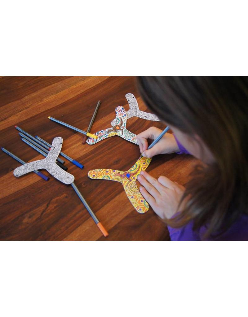 TicToys MyFibo - Display met 20 sets x 4 boomerangs