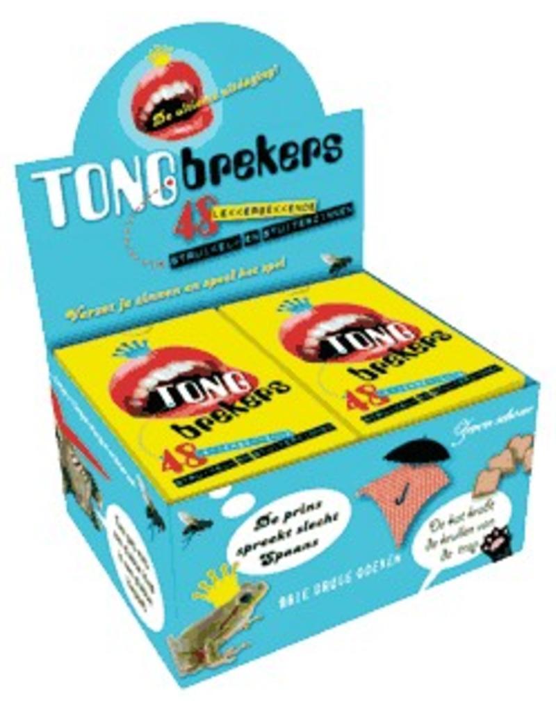 Dubbelzes Tongbrekers - display 6 stuks