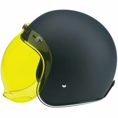Redbike bubble visor yellow