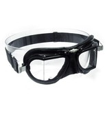 Halcyon mark 9 compact racing goggles black