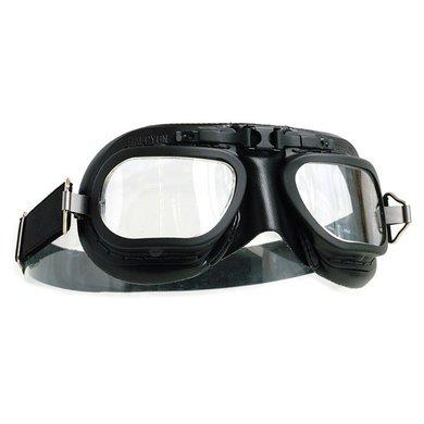 Halcyon mark 7 racing motorbril zwart