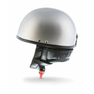 Moto D22 titan half helmet matt grey   size XXL