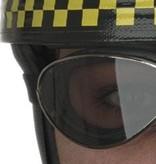Aviator Goggle retro gunmetal vliegeniersbril