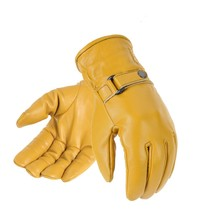 shorty gloves tan