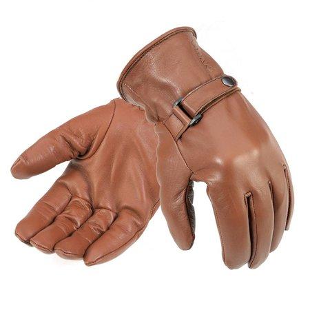 Davida shorty handschoenen bruin