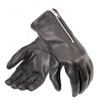 racer gloves black