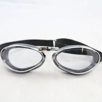retro chrome goggles