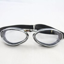 retro chrome motor goggles
