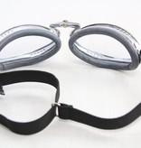Aviator Goggle retro chrome motor goggles