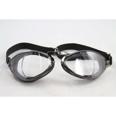 Aviator Goggle retro special optical gunmetal motorbril