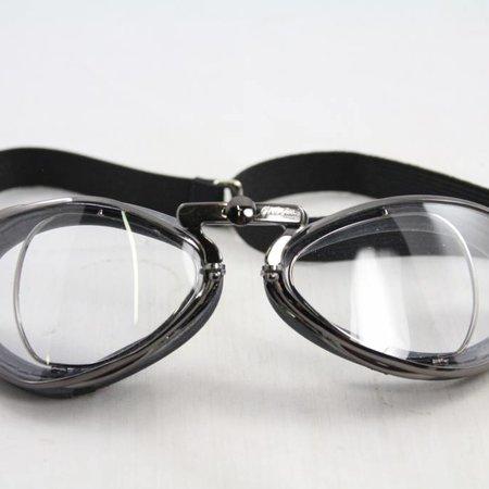 Aviator Goggle retro special optical gunmetal motor goggles