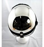 Chrome half helmet  | outlet