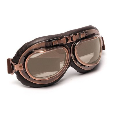 CRG vintage, motor goggles thea glass