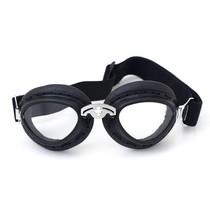 zwarte bobster motorbril