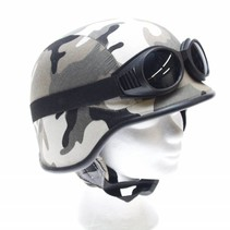 Army chopper helmet snow camou
