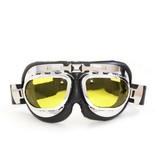 CRG RAF chrome motor goggles