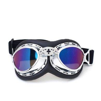 CRG Chrome steampunk rider motorbril
