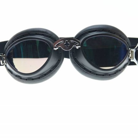 Black bobster motor goggles
