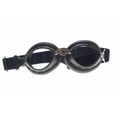 Black bobster motor goggles