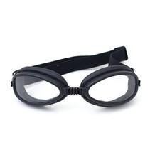 zwarte speedster motorbril