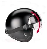 Davida 75 JPV1 visor goggle clear glass