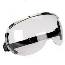 75 JPV1 visor goggle clear glass