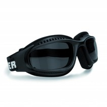 antifog AF113A black motor goggles smoke glasses