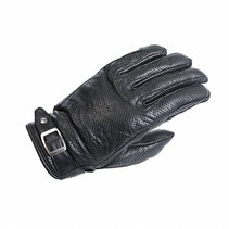 orlando perforated summer motor gloves | black